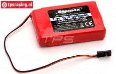 FTB2S2800 Battery Li-Po, (2800 mAh, 7,4 Volt, 2C), 1 pc