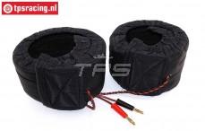 TPS0428/06 1/6 Scale Tire warmers 12 Volt-W60 mm 2 pcs.