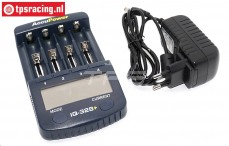Charger, Accupower IQ-328+, 220 volt, Set