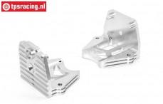 AR-TX003/S Area RC Alloy Engine Mount X-maxx Silver, Set