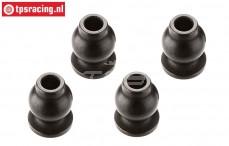 ARAC3042 ARRMA Steel ball joint, 4 pcs.