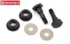ARAC9367 ARRMA Steel stepped screw, set