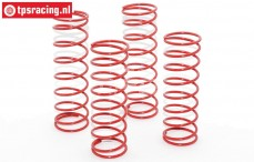 Area RC, Shock spring, 2,8-8 mm Hard, 4 pcs