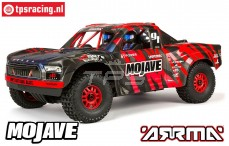 ARA106058T2 ARRMA 1/7 Mojave 6S BLX 4WD Red/Black RTR