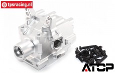 AT-5T015 ATOP Transmission case front LOSI-BWS, set