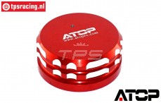 AT-5T017R ATOP Aluminium Tank Cap Red LOSI-BWS, 1 pc.