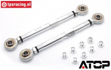 AT-5T021 ATOP Steering rod LOSI-BWS, set