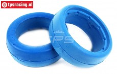 TPS2357 HQ Tyre Foam Bleu Ø120-Ø190-W75 mm, 2 pcs