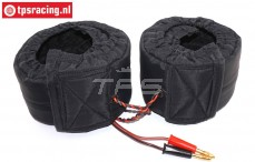 TPS0428/05 1/5 Scale Tire warmers 12 Volt, Set