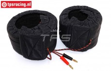 TPS0428/08 1/6 Scale Tire warmers 12 Volt-W80 mm, 2 pcs.