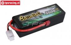 GA5500B Gens Ace Bashing 5500 mAH 11.1V 3S 50C, 1pc.