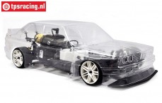BMW M3 E30 Sports-Line 4WD-530 RTR, (Clear body)