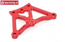 BWS50013/02 Alloy servo-saver plate Red BWS-LOSI, 1 pc