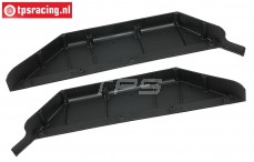 BWS51040 Chassis Side guards left-right BWS-LOSI, Set