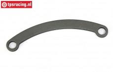 BWS54003/07 Servo-Saver Steering link 7075ST BWS-LOSI, 1 pc.