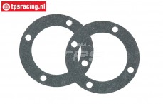 BWS54015 Differential Gasket, BWS-LOSI-TLR, 2 pcs.