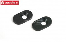 BWS55010 Steel engine mount, (BWS), 2 pcs.