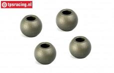 BWS55039 Balls, (Ø10/Ø4/H8 mm), (BWS-LOSI-TLR), 4 pcs