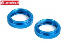 BWS55045B Shock Adjust nut Bleu Ø24 mm, 2 pcs