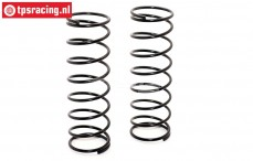 BWS55050/01R Shock spring black Ø3,0-L115 mm 2 pcs.