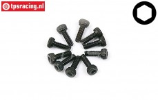BWS56001 Cap Head Hex Screw (M3-L6 mm), 10 pcs