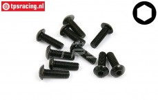 BWS56027 Button Head Screw M5-L16 mm, 10 pcs