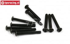 BWS56031 Pan Head Hex Screw (M5-L40 mm), 10 pcs