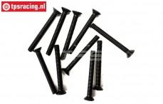BWS56034 Countersunk Hex Screw (M5-L45 mm), 10 pcs