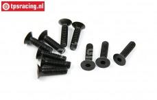 BWS56037 Countersunk Hex Screw (M5-L12 mm), 10 pcs