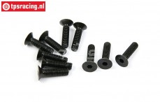 BWS56038 Countersunk Hex Screw (M5-L20 mm), 10 pcs