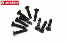 BWS56039 Countersunk Hex Screw (M5-L25 mm), 10 pcs