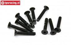 BWS56040 Countersunk Hex Screw (M5-L30 mm), 10 pcs