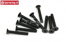 BWS56041 Countersunk Hex Screw (M5-L35 mm), 10 pcs