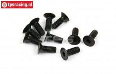 BWS56042 Countersunk Hex Screw (M6-L16 mm), 10 pcs