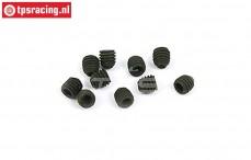 BWS56048 Hex Headless Pin (M3-L3 mm), 10 pcs