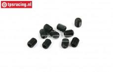 BWS56049 Hex Headless Pin (M4-L5 mm), 10 pcs