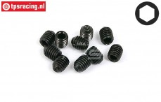 BWS56051 Scrub Screw M5-L6 mm, 10 pcs