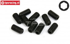 BWS56053 Grub Screw M8-L16 mm, 10 pcs