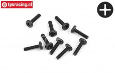 BWS56054 Button Head Screw M2-L8 mm, 10 pcs
