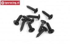 BWS56055 Pan-Head screw (Ø4-L16 mm), 10 pcs