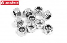 BWS56059 Steel locking Nut M6, 10 pcs