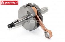 BWS57008 Crank shaft BWS Racing S28 mm, 1 pc