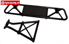 BWS59044/02 Rear Bumper with mount, (LOSI 5T-BWS), Set