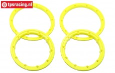 BWS59099/NY HD Beadlock Neon-Yellow Ø120 mm, 4 pcs