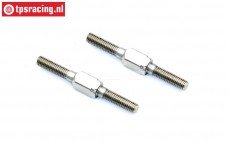 BWS65020 Turnbuckle, (M5-L50 mm, BWS 5B), 2 pcs.