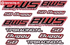 BWS 5B Buggy Decals, 1 pc.