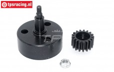 TPS5092 Clutch bell with hex Ø12-Ø54 mm, set