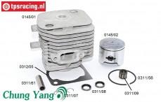 CY0145 CY Cylinder 28,5 cc Ø36 mm, Set