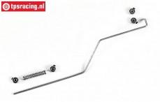FG10019/01 Throttle rod bend F1 L160 mm, 1 pc.