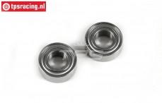 FG10076 Clutch bell ball-bearing Ø8-Ø16-H6 mm FG F1, 2 st.
